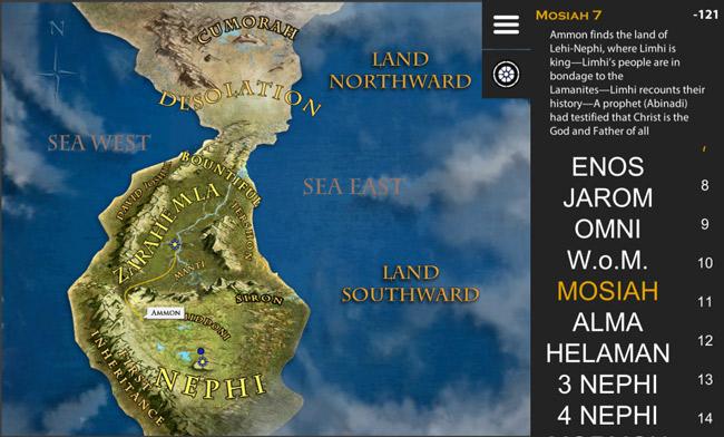 Book of mormon map virtual scriptures screenshot of current development gumiabroncs Images